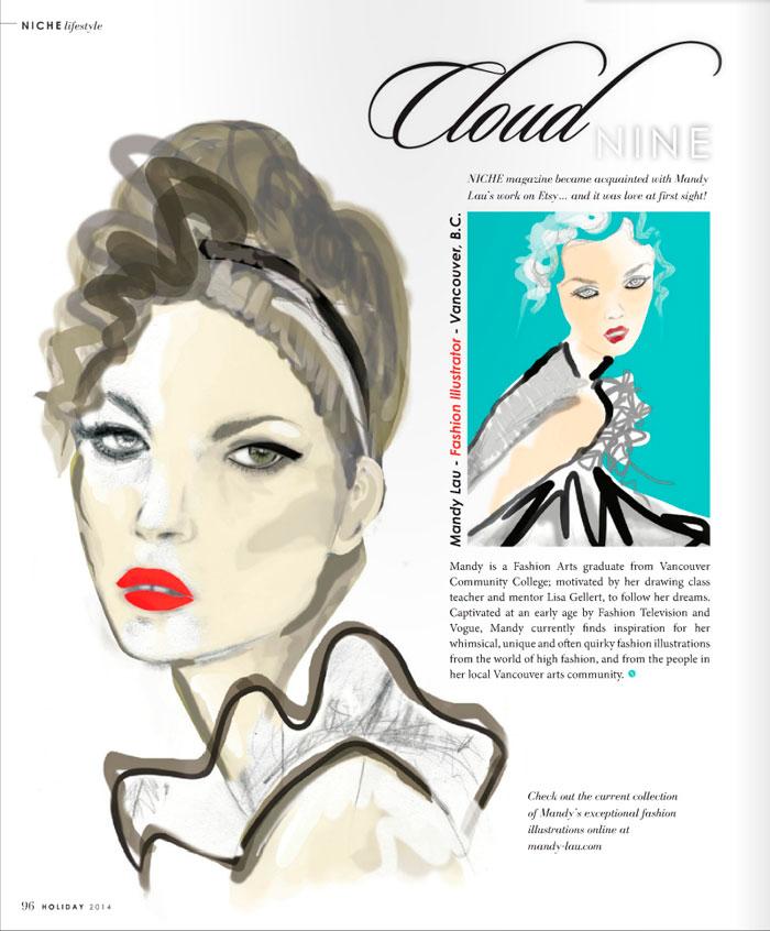 Cloud Nine – Niche Magazine, Holiday 2014