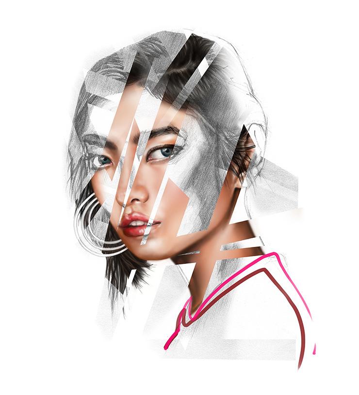 Lines 3 Portrait Mandy Lau