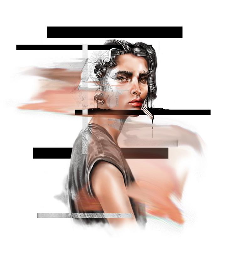 Lines 4 Portrait Mandy Lau