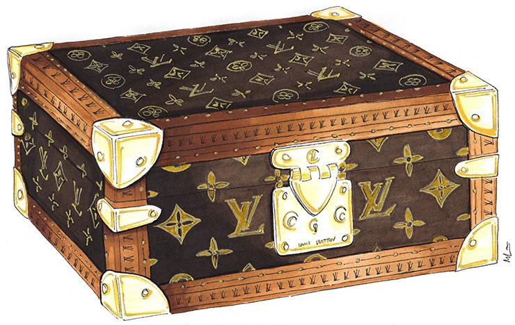 Mandy Lau Illustration Louis Vuitton